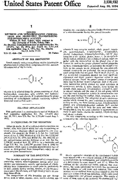 Simultaneously acting tranquilizing and/or hypotensive pharmaceutical compositions comprising effective amounts of compounds of the formula: wherein R is selected from the group consisting of alkyl, hydroxyalkyl, cyanoalkyl, aryl, aralykl, and hydroxyaralkyl radicals; and wherein R' is slected from the group consisting of cycloaliphatic radicals containing between three and seven carbon atoms.
