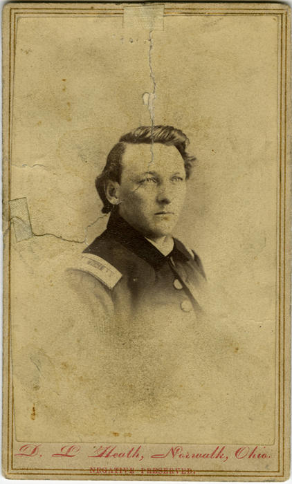 "Civil War item: Card Photograph: ""Dr. Joab Squire"""