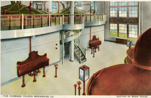 Postcard: Section of Brew House
