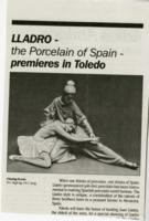 Porcelain of Spain Premiers in Toledo