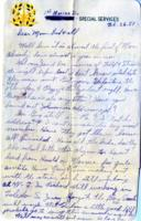 Leo Barlow Letter, February 26, 1951