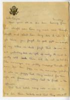 William Barlow letter
