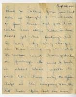 William Barlow letter, September 18, 1945