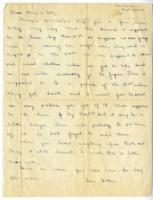William Barlow letter, September 23, 1945