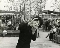 Promenade Park mime photograph