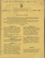 First issue of the Bulletin