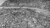 Aerial view of Toledo (before)
