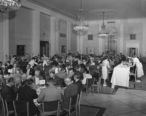Photograph: 1st annual meeting: May 29, 1956
