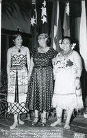 Ella P. Stewart at Pan-Pacific Conference, 1955