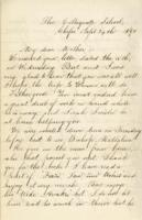 Letter dated September 24, 1892