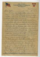 Letter to mother from Camp Sherman