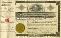 Stock certificate No. 3