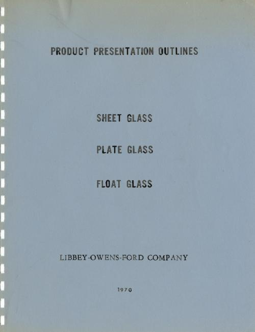 Product outlines for Sheet glass, plate glass, and float glass