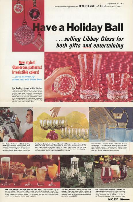 Libbey Holiday Sales flyer to bring more independent sales people on board.