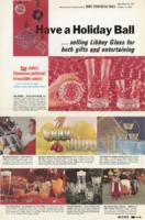 Libbey Glass sales ad