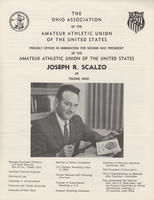 Scalzo nomination pamphlet for 2nd Vice-President of National AAU, 1970