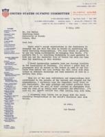 Correspondence to Joseph R. Scalzo, July 7, 1962