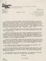 Correspondence, Joseph Scalzo to Community Leaders, 1975