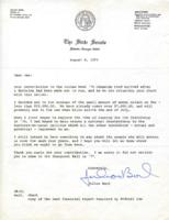 Letter from Julian Bond