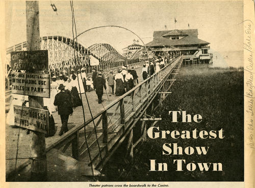 The Greatest Show in Town. Photo from 1981 edition of Toledo Magazine that accompanies a story about the casino that once was in Toledo