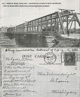 Cherry St Bridge Postcard