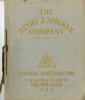 Henry Spieker Company (cover only)