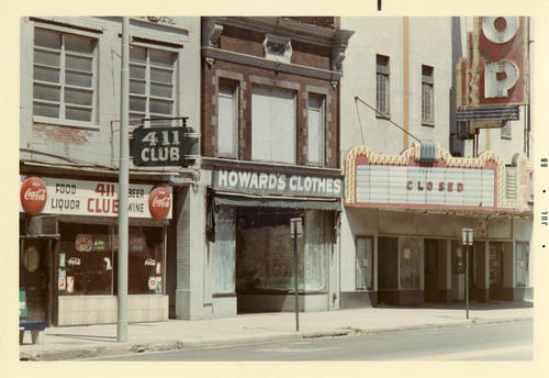July 1968. A photo of the now demolished Loop theater in Toledo only months before it's destruction