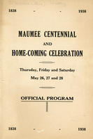 Maumee Centennial and Home-Coming