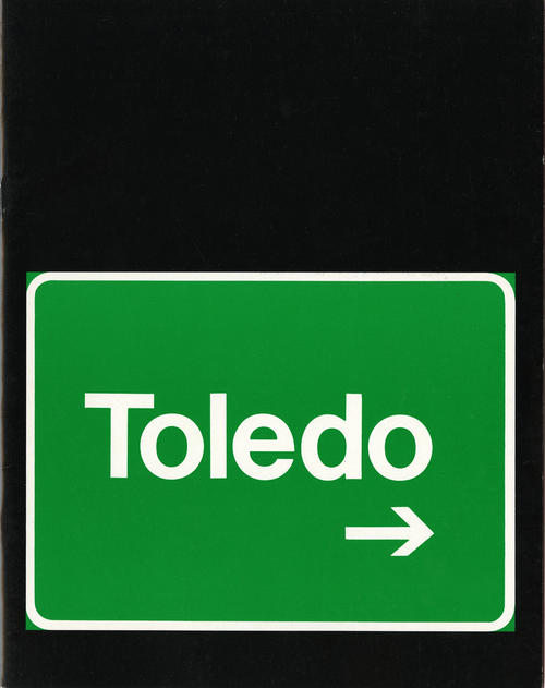 Toledo. This magazine takes images inspired by or about Toledo and makes them colorful.