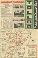 Toledo Transportation Map