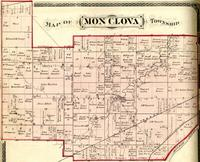 Map of Monclova Township.