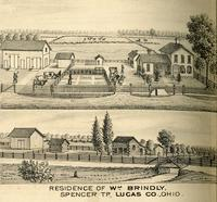 Residence of Wm Brindley
