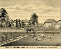 Res. Of Thomas Watts