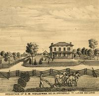 Residence of C.B. Holloway