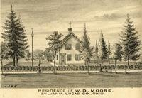 Residence of W.D. Moore