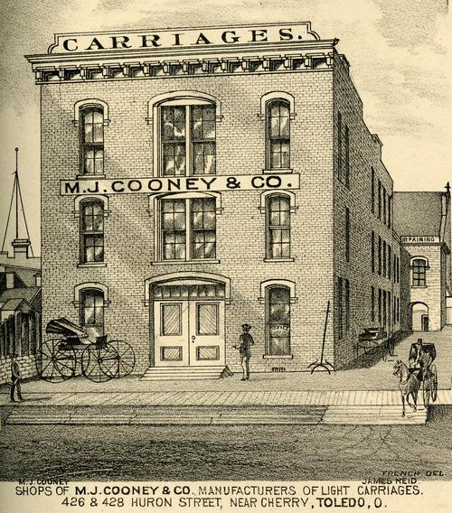 Shops of M J  Cooney and Co  | University of Toledo Digital Repository