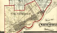 Map of Waynesfield Township