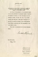 FDR's Appointment