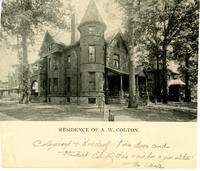 Residence of Abram W. Colton