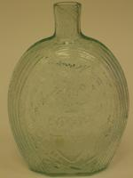 Historical and pictorial flask