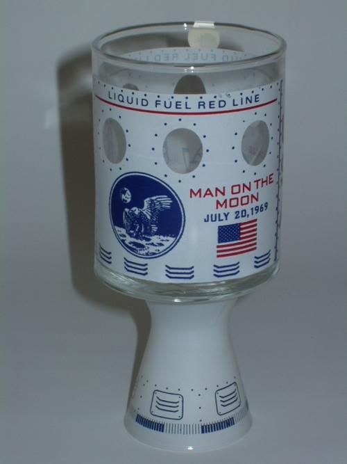 Moonshot Apollo 11.  O-I Glass to Celebrate Man on the Moon July 20, 1969