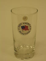 Commemorative glass