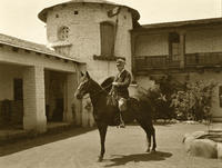 Libbey at his Ojai Estate