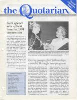 Quotarian Bimonthly Newsletters, 1991-1994