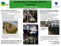 Greening UT through Service Learning