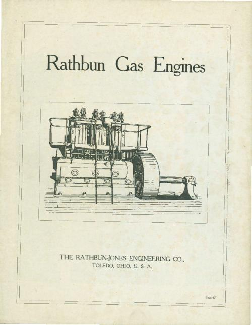 Complete catalog of gas engines and specifications