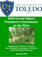 2009 Annual report of the UT Presidents Commission on the River