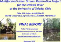 2013  Annual report of the UT Presidents Commission on the River