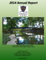 2014  Annual report of the UT Presidents Commission on the River