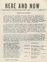 "Cover of ""Here and Now"""